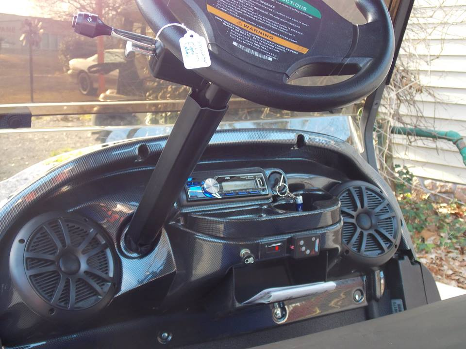 Royal Amp Black Phantom Club Car