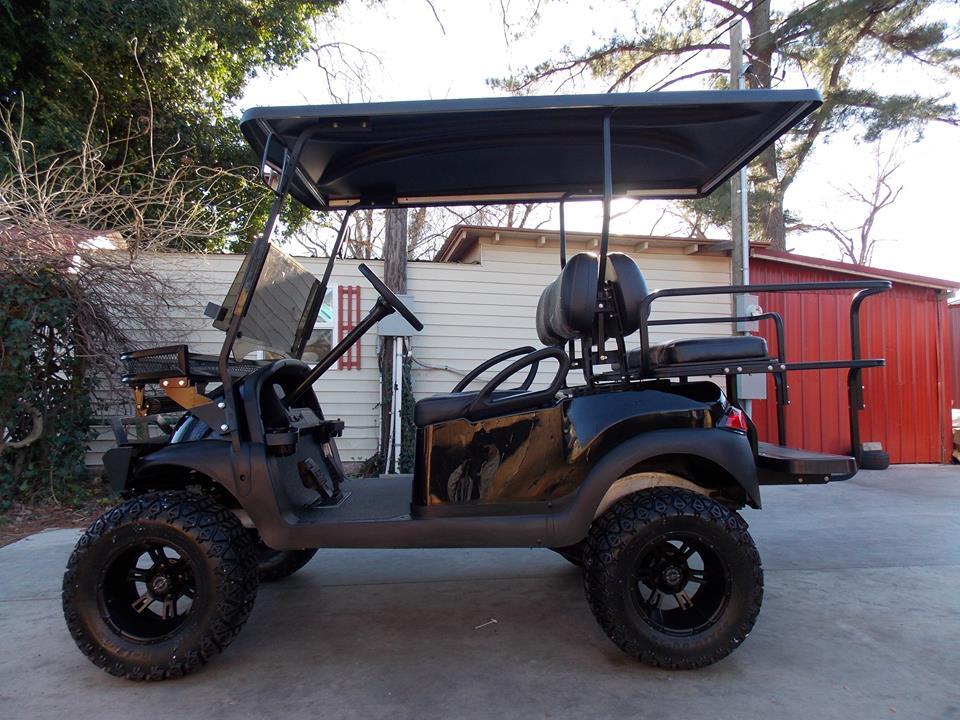 Black Amp Real Tree Ap Club Car Hunting Cart