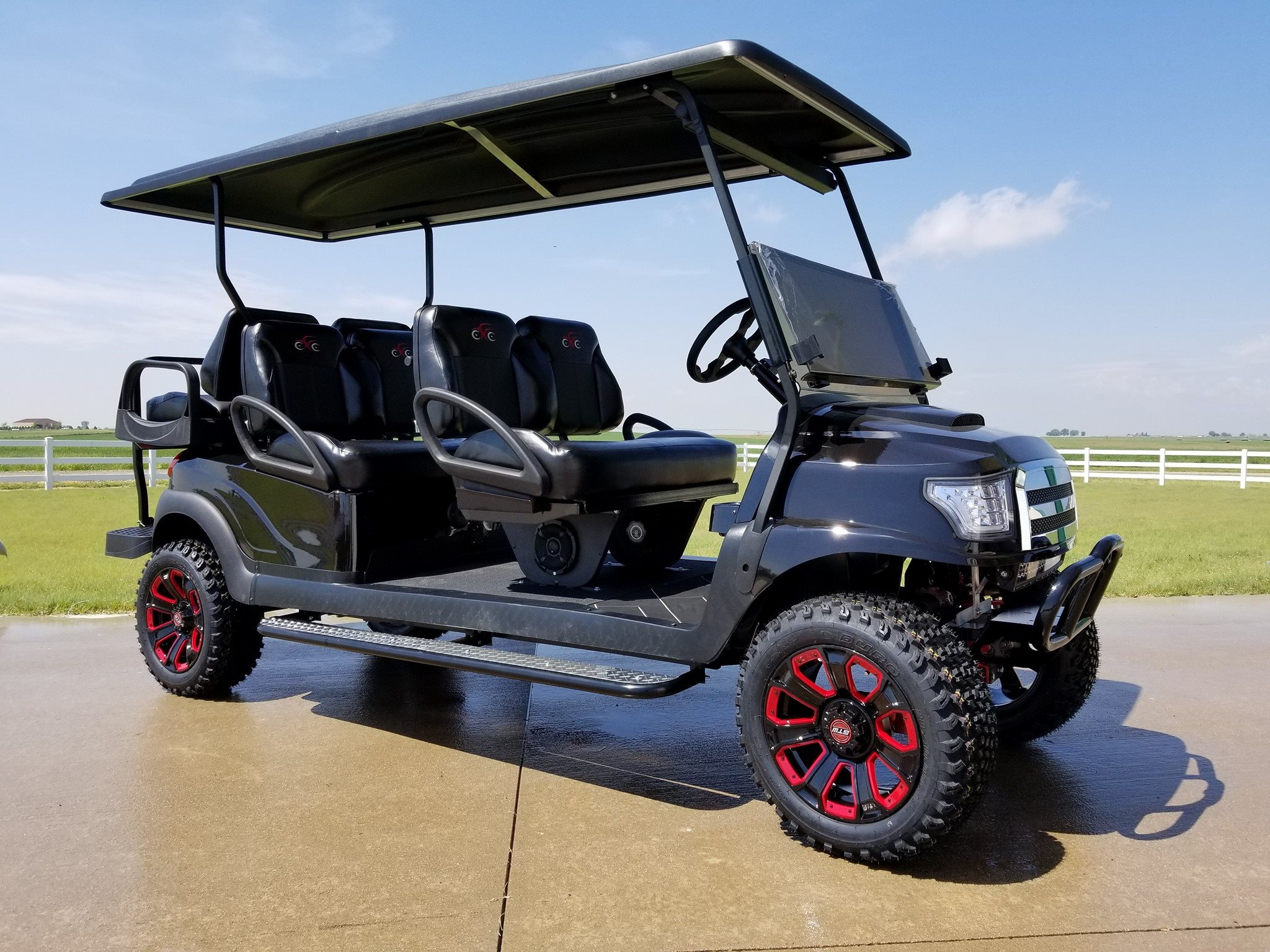 Red Golf Cart Seats With Back Html on