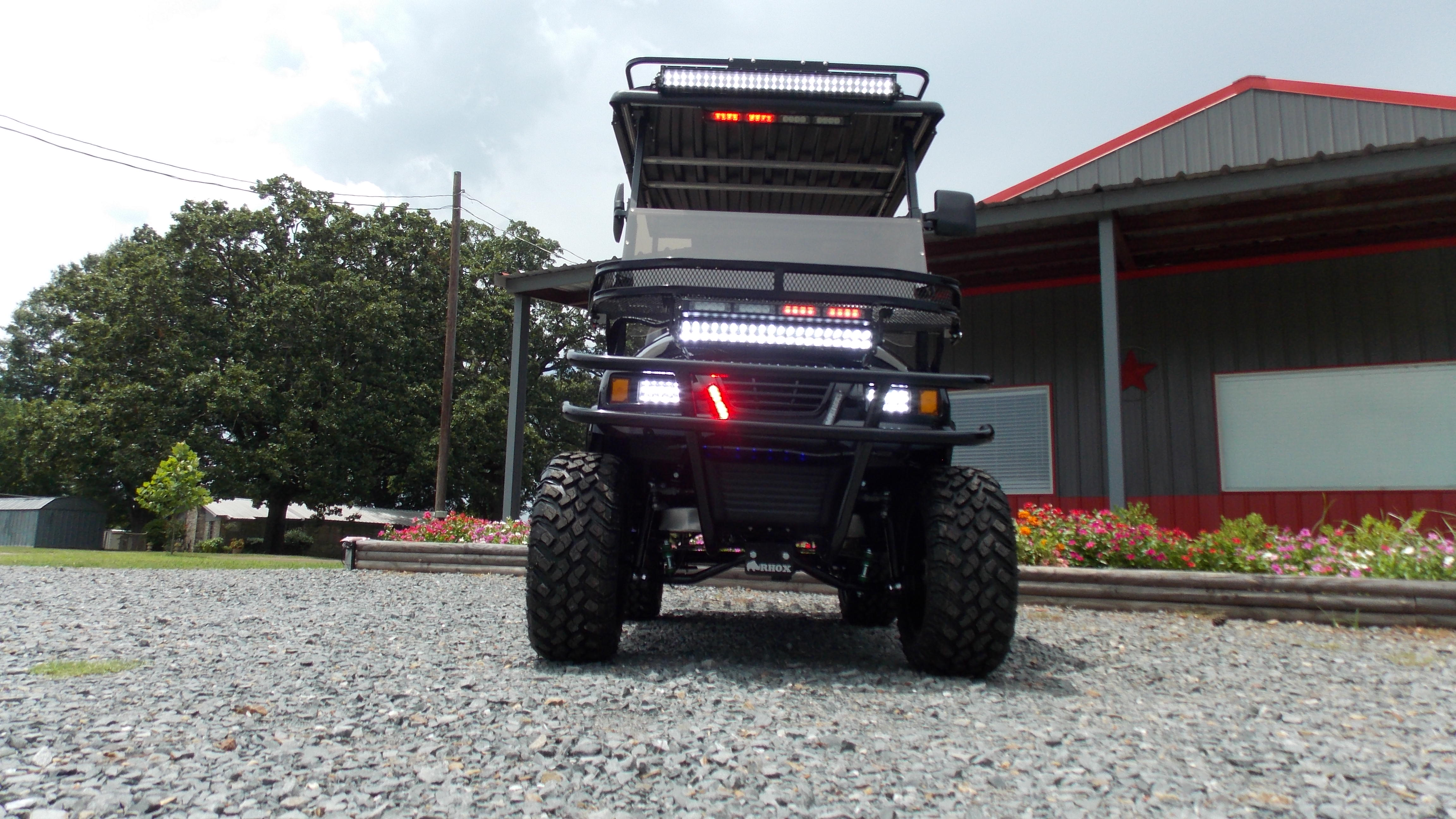 Prowl Edition Police Tatical Security Electric Lsv Golf Cart