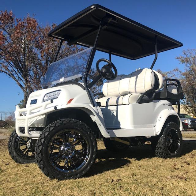 2019 Snowstorm Limited Edition Club Car Onward 48v Electric Lifted Golf Cart
