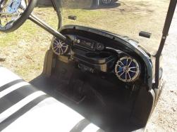 2011 Black & White Golf Cart