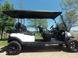 White Rock Star Edition Phantom Stretch Limo Golf Cart